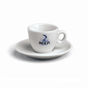 Meseta Espresso cups and saucers x 6