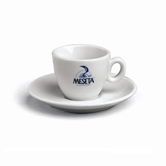 Meseta Espresso cups and saucers x 6