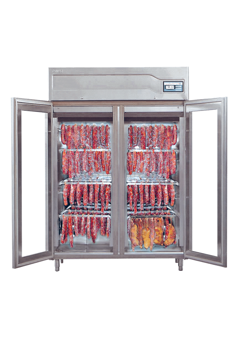 Captivating Salami Curing Cabinets | MF Cabinets Source Cured ...
