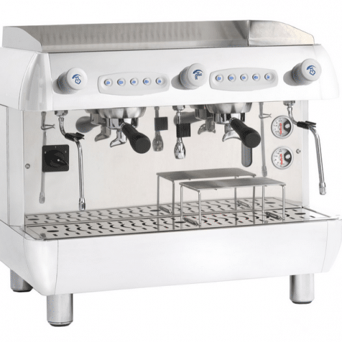 2 group coffee machine